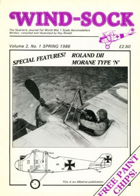 WIND-SOCK Vol.2,No.1 SPRING 1986 (h)